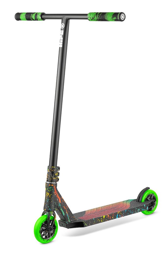 Самокат трюковый HIPE H8 multicolor 2021
