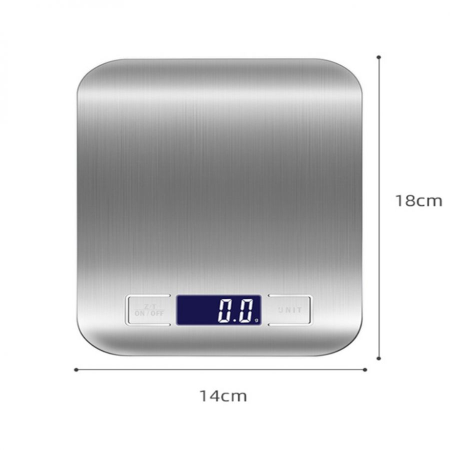Орбита OT-HOW08 весы кухонные настольные 5кг точность 0.1гр