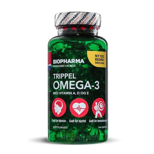 Trippel Omega-3 Тройная Омега 3, 144 капсулы