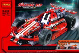 Конструктор Decool Racing car Карт с инерционным двигателем 3412 (Аналог LEGO Technic 42011) 158 дет