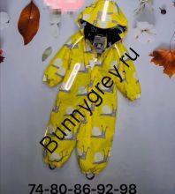 PogoKids, комбинезон демисезонный Улитки (Желтый)