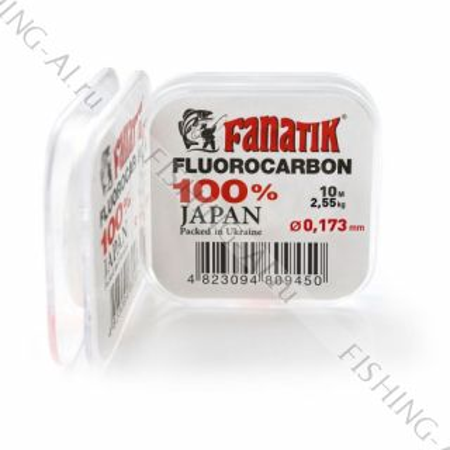 Флюорокарбон FANATIK 10 m 0.173 mm