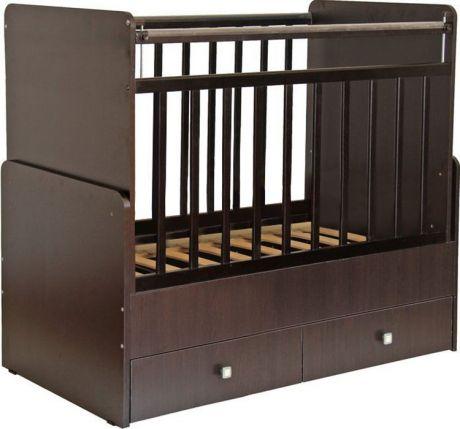 Кроватка детская Фея 720 венге
