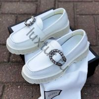 Женские лоферы Gucci белые купить в интернет магазине Люкстут