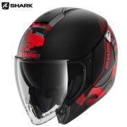 Шлем Shark City Cruiser Genom, Матовый красный