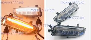 Набор для установки LED противотуманных фар с ДХО, а/м с 12/2018-