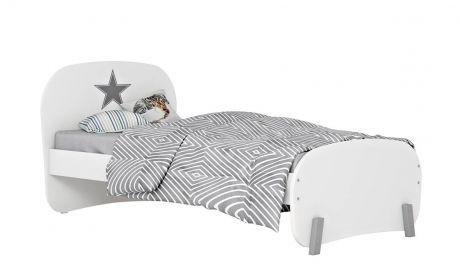 Кровать детская Polini kids Mirum 1910, белый