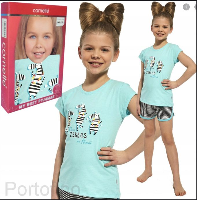248-66 Пижама для девочек короткий рукав Cornette