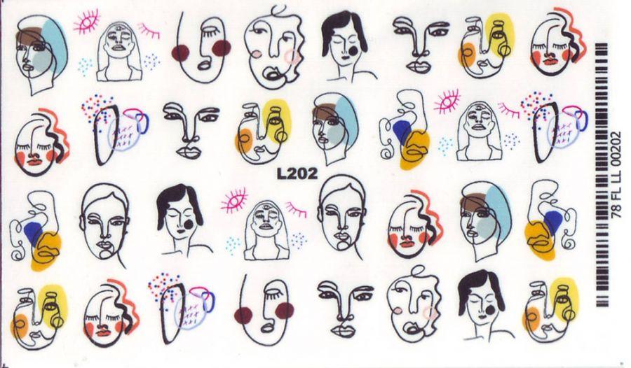 Слайдер-дизайн L202 лица