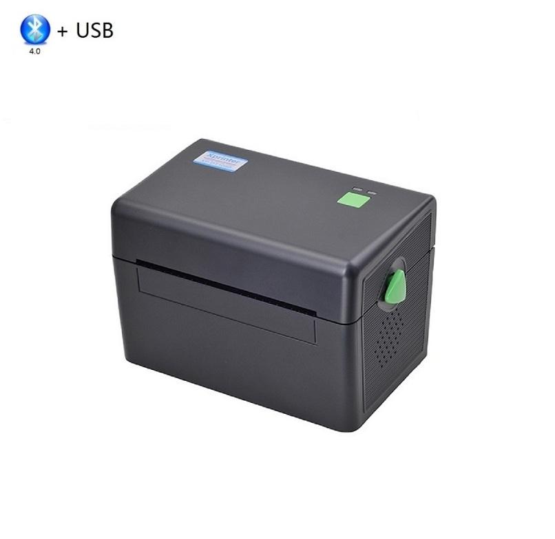 Термальный принтер XPrinter XP-DT108B (USB + Bluetooth) черный