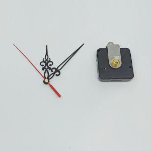 Часовой механизм, шток 21 мм, со стрелками №01 (1уп = 5шт)