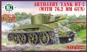 Артиллерийский танк БТ-2 с оригинальной пушкой 76,2 мм