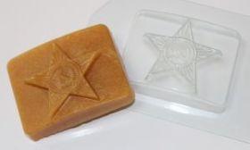 "Форма для мыла и шоколада ""Бляха"", арт. 0147"