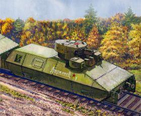 Танк Т-28 на рельсах