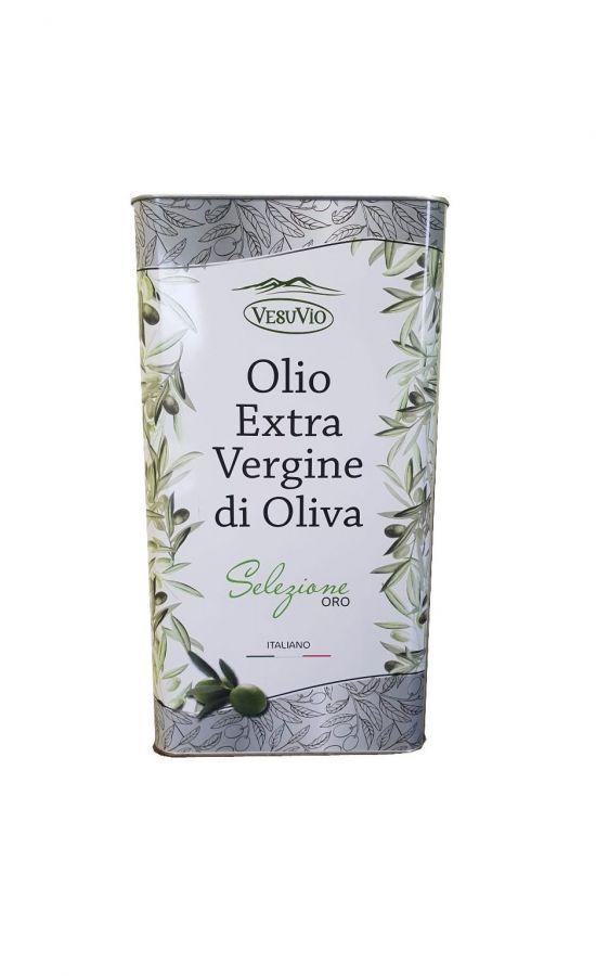 Масло оливковое Extra Vergine нерафинированное в ж.б. 5 лит.