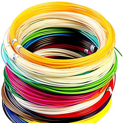 Набор пластика для 3D ручки 10 м, 20 цветов