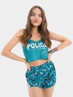 Шелковая женская пижама с рисунком № ED114