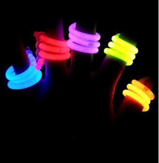 Светящееся спиральное кольцо Glow Spiral Ring, 2 шт