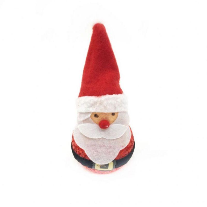 Светящаяся фигурка Деда Мороза, высота 14 см