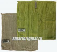 Smart Microfiber Салфетка ребристая 24 х 24 см серая/зелёная 2 шт.