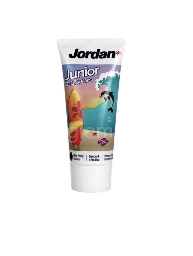 Зубная паста Jordan Junior  6-12 лет,50мл
