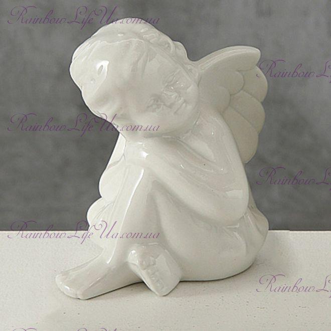 Статуэтка белый ангелочек