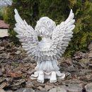 Композиция 35 см Ангел светящийся