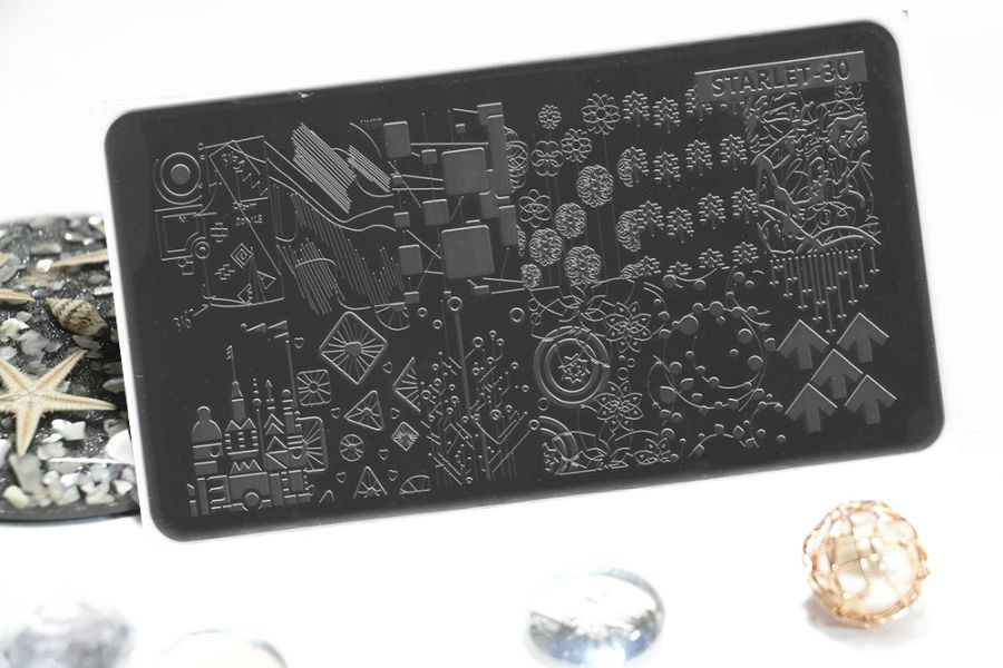 Стемпинг плитка высшее качество  STARLET-30