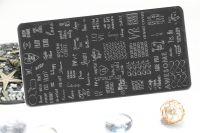 Стемпинг плитка высшее качество  STARLET-128