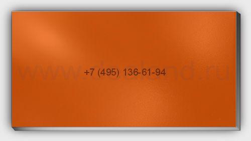 Лист алюм. 2х1500х3000 RAL2009 Оранжевый