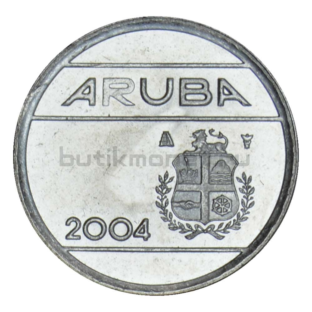5 центов 2004 Аруба