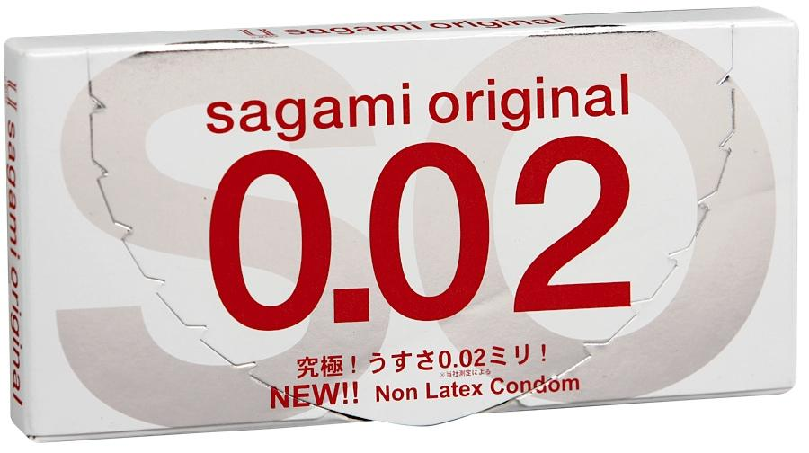 Презервативы SAGAMI Original 002 полиуретановые 2шт.