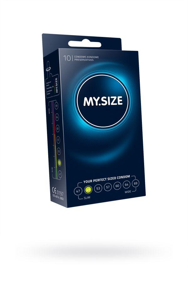 "Презервативы  ""MY.SIZE"" №10 размер 49 (ширина 49mm)"