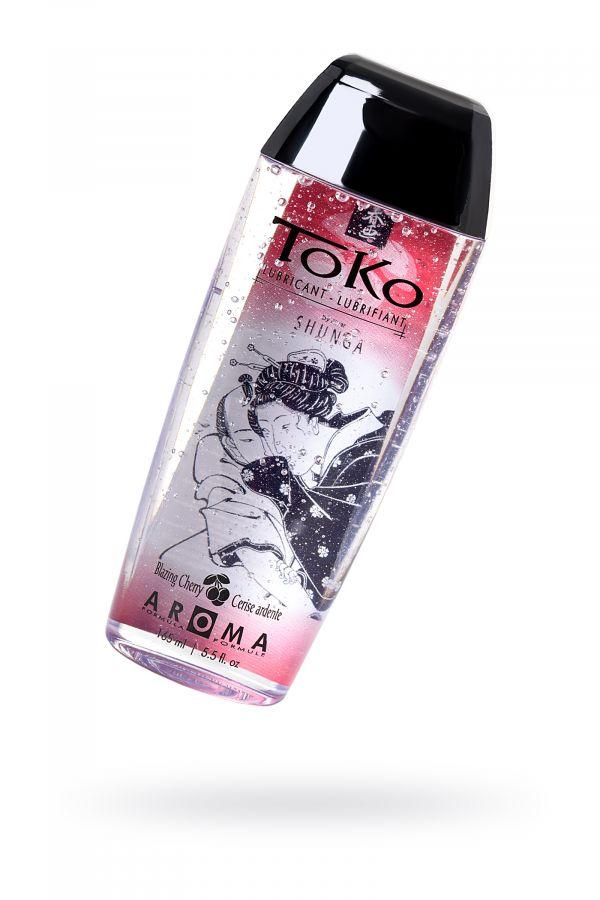 Лубрикант Shunga Toko Aroma на водной основе, со вкусом вишни, 165 мл