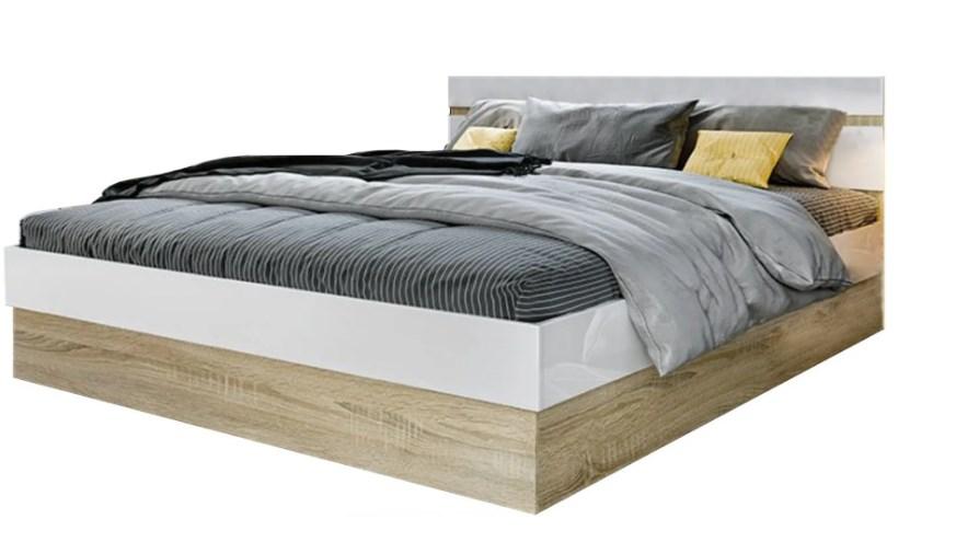 Кровать 1,6 с подъемным механизмом Ким