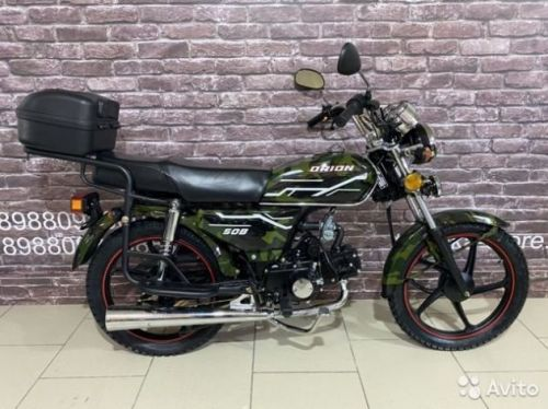 Мотоцикл дорожный Орион 50В/ 110см3