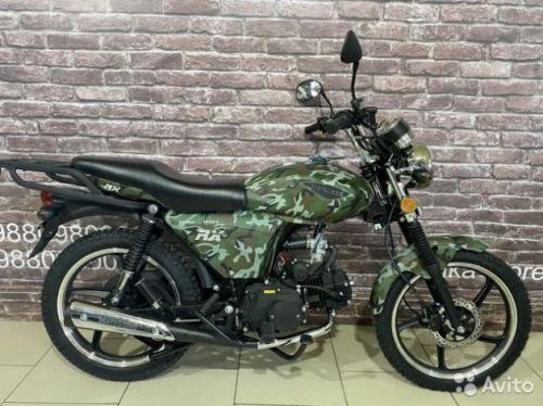 Мотоцикл Motoland RX125 2020 с птс