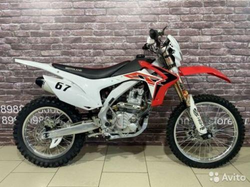 Мотоцикл кроссовый Motoland XR250 PRO водянка
