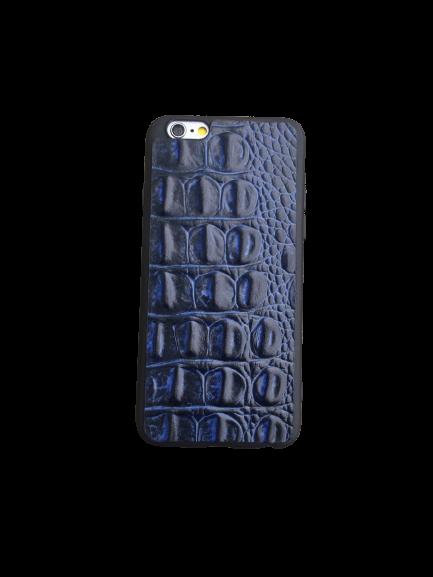 Кожаный чехол-накладка «Крокодил» на iPhone