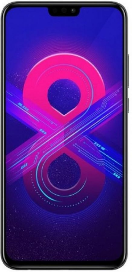 СМАРТФОН HONOR 8X 4/64GB BLACK/ЧЕРНЫЙ