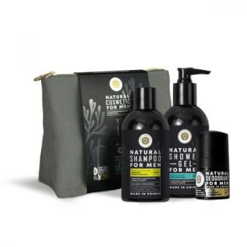 Natural cosmetic Set for men с Комплексом водорослей Черного моря