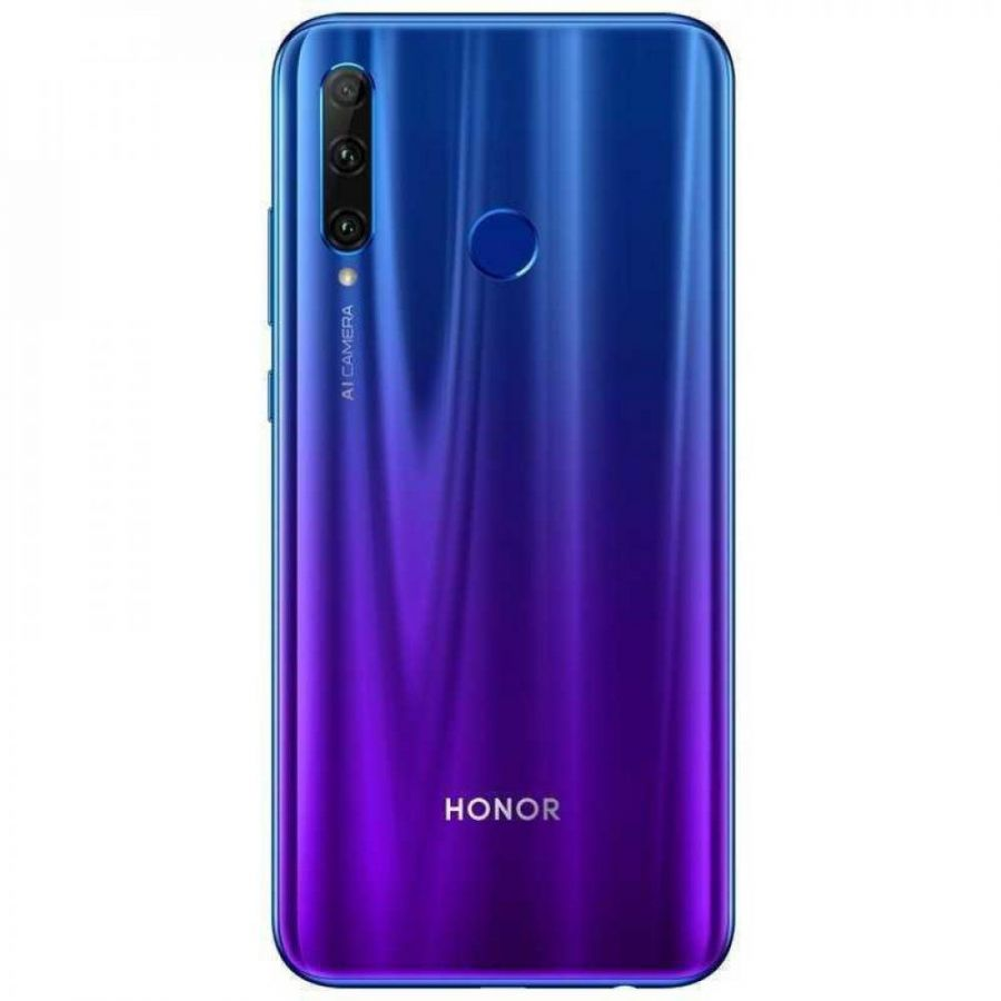 СМАРТФОН HONOR 20 LITE 4/128GB (RU) (CАПФИРОВЫЙ СИНИЙ)