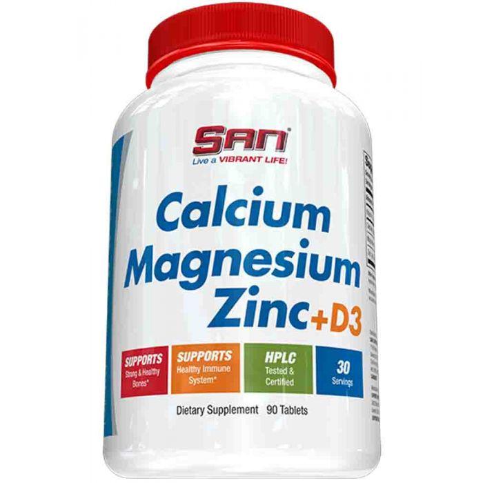 SAN - Calcium Magnesium Zinc + Vit D3