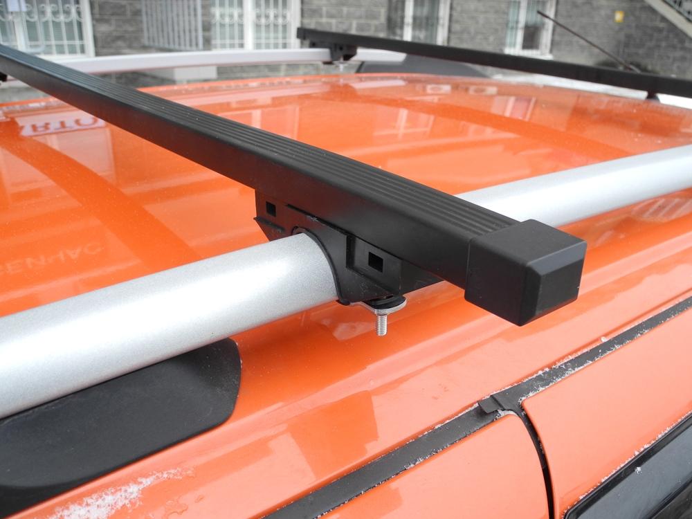 Багажник на рейлинги (эконом), Евродеталь, стальные дуги