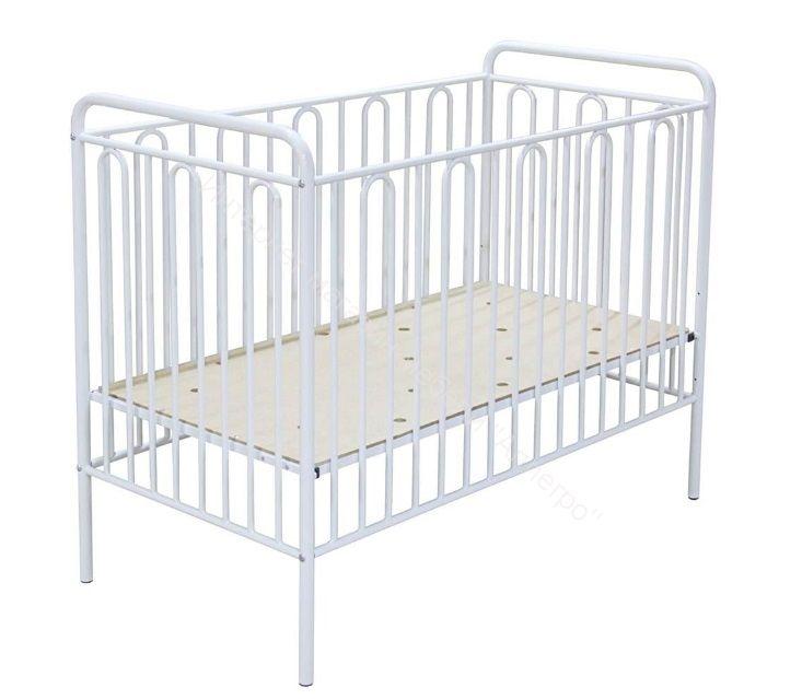 "Кроватка ""Polini Vintage"" 110 белый"