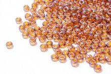Бисер чешский 48095 светло-коричневый прозрачный блестящий Preciosa 1 сорт