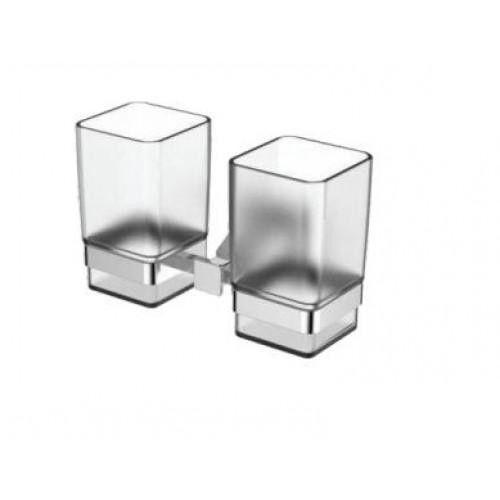 Двойной стакан для зубных щеток Gappo G1908