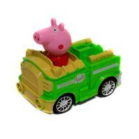 Свинка Peppa Pig на машине