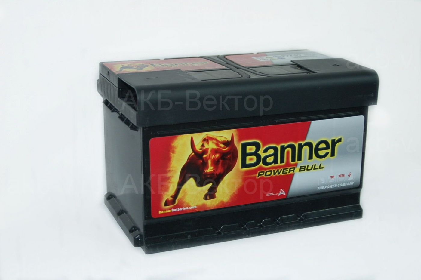 Banner Power Bull Pro 72Aч 670А(EN) (P72 09) низкий