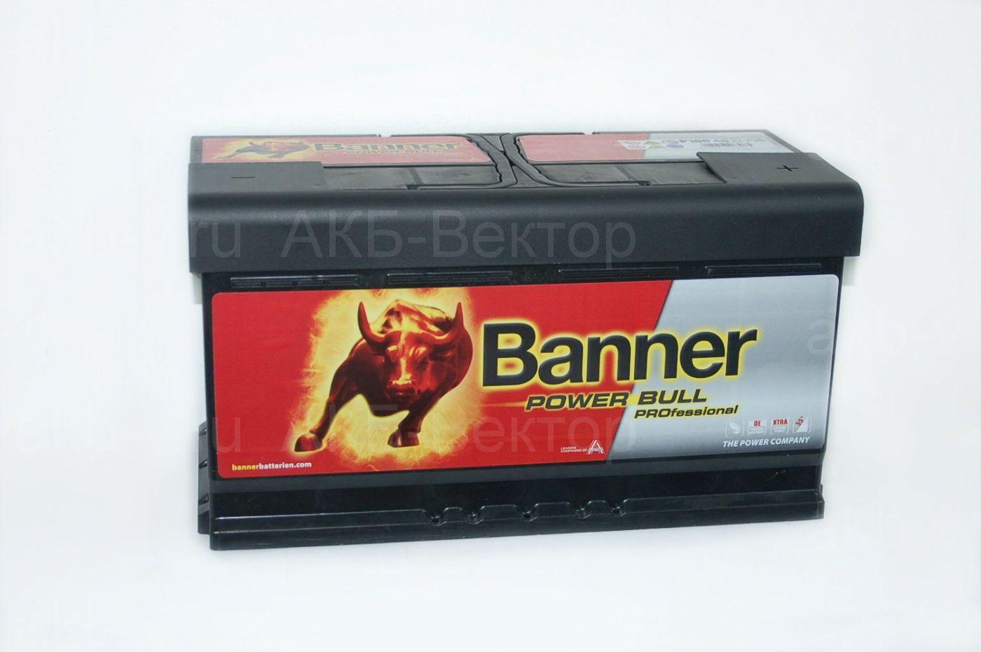 Banner Power Bull Pro 100Aч 820А(EN) (P100-40)